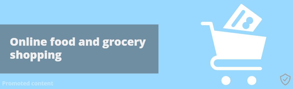 Online Food Shopping Banner