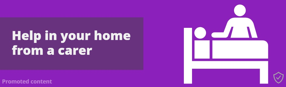 Help In Your Home From A Carer Banner