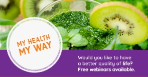 My Health My Way News Promotional Banner