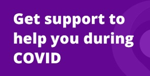 COVID-19 Support Promotional News Banner