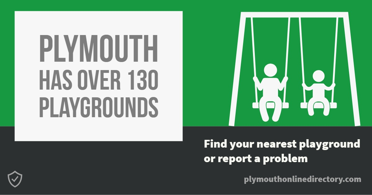 Plymouth Playground Banner